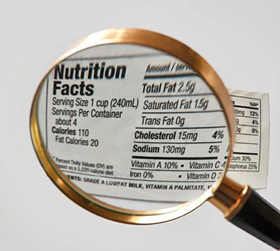 always check your nutrition labels...