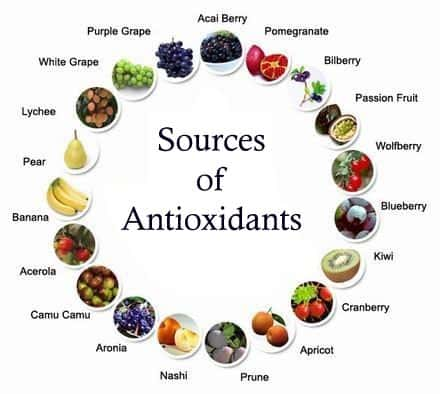 antioxidant food sources