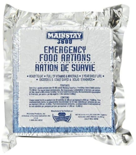 Mainstay Emergency Food Ration