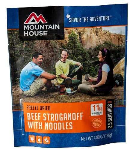 Beef Stroganoff with Noodles - Pouch