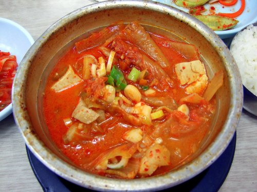Traditional Korean Kimchi Dish