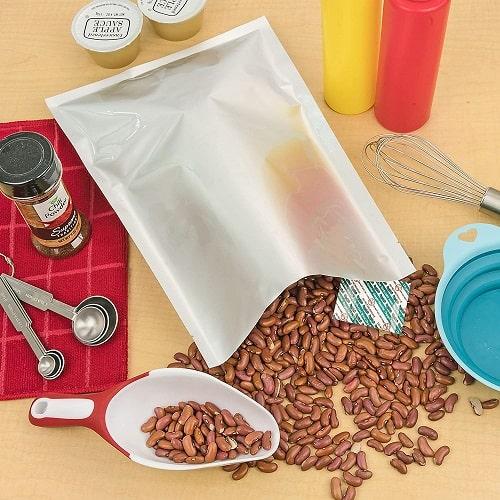 Typical Food Grade Mylar Storage Bag with Desiccant Pack