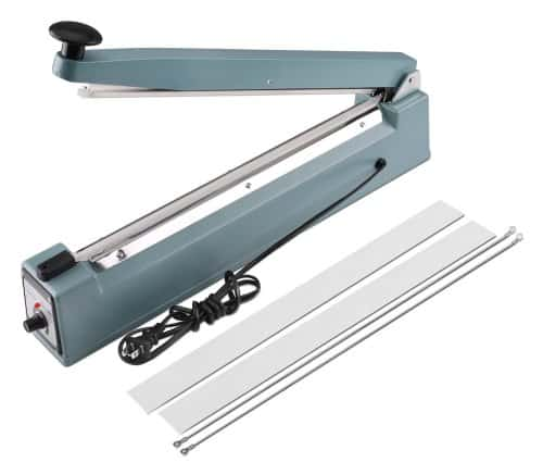 Flexzion 16-inch Impulse Sealer - Mylar Poly Bag Heat Sealing Machine
