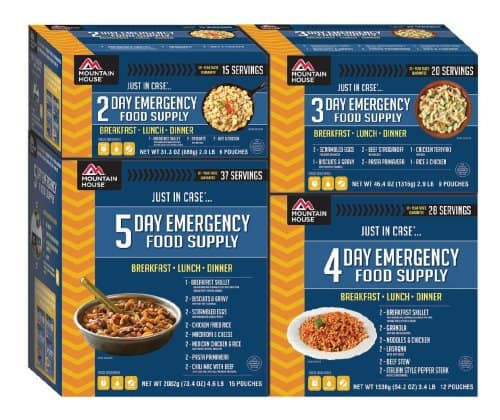 Mountain House Emergency Food Supply
